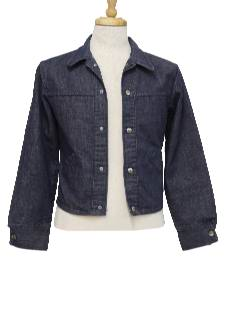 1960's Mens/Boys Denim Jacket