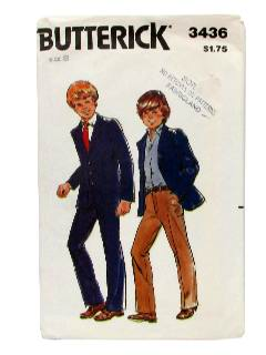 1980's Mens/Childs Pattern