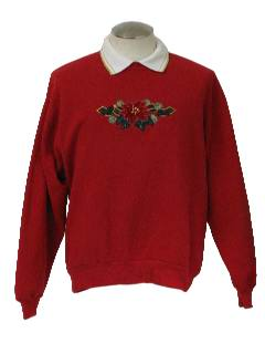 1980's Unisex Ugly Christmas Sweatshirt