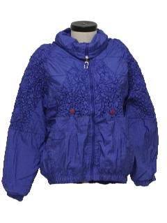 1990's Womens Wicked 90s Windbreaker Jacket