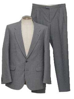 1970's Mens Totally 80s Suit
