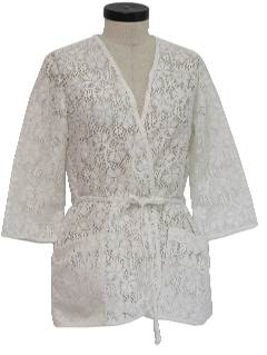 1970's Womens Lace Jacket
