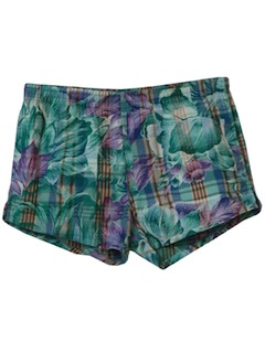 1990's Mens Wicked 90s Hawaiian Style Swim Shorts