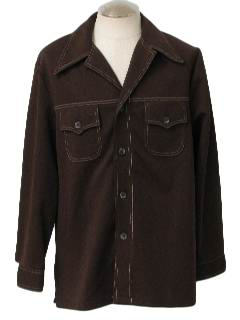 1970's Mens Western Style Leisure Jacket