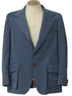 1970's Mens Western Style Sport Coat Jacket