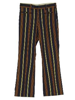 1960's Mens Flared Mod Pants*