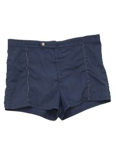 1970's Mens Mod Swim Shorts
