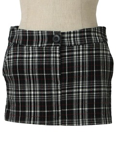 1990's Womens Wicked 90s Punk Mini Skirt