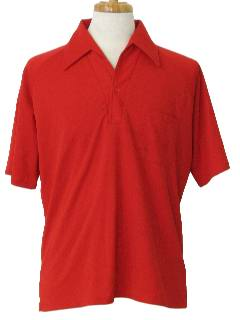 1970's Mens Golf or Resort Wear Shirt