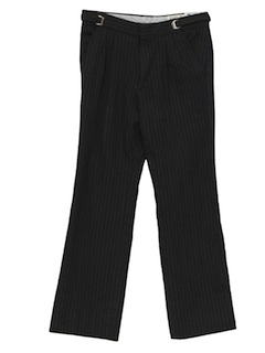1980's Mens Totally 80s Tuxedo Pants