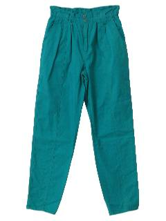 1980's Womens Totally 80s Pants