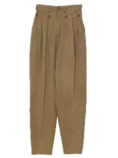 1980's Womens Totally 80s Designer Pants
