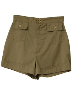 1970's Womens Safari Shorts