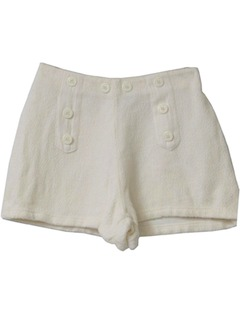 1980's Womens Sailor Shorts
