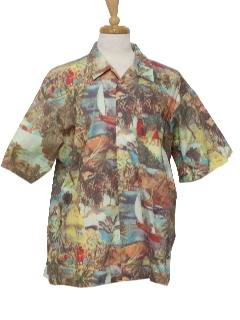 1990's Mens Hawaiian Shirt