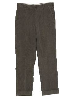 1980's Mens Totally 80s Corduroy Pants