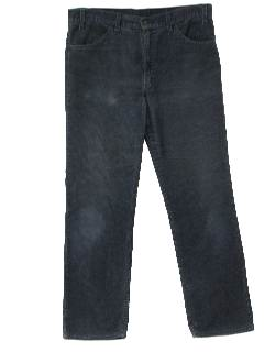 1980's Mens Flared Corduroy Pants