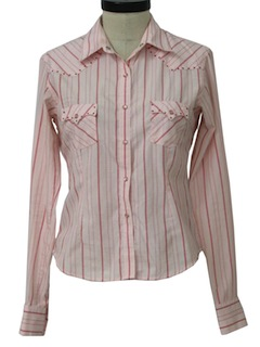 1990's Womens Wicked 90s Western Shirt