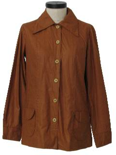 1970's Womens Mod Shirt-Jac