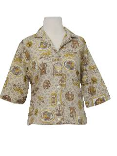 1950's Womens Mod New Look Shirt