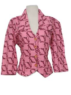 1970's Womens Shirt-Jac