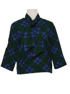1950's Womens Mod Wool Shirt