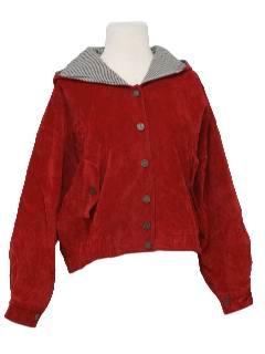 1990's Womens Velvet Jacket