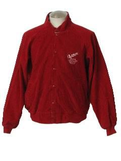 1990's Mens Corduroy Baseball Style Jacket