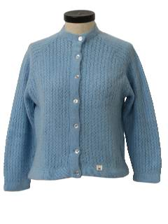 1960's Womens Cardigan Sweater*