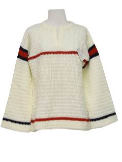 1960's Womens Pullover Sweater