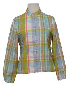 1960's Womens Mod Shirt-Jac