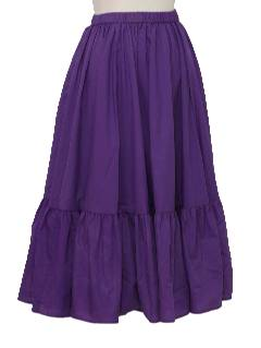 1970's Womens Circle Skirt