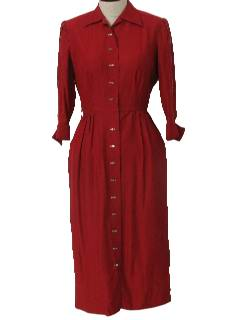 1950's Womens Designer Fab Fifties Dress