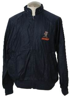 1990's Mens Wicked 90s Windbreaker style Jacket