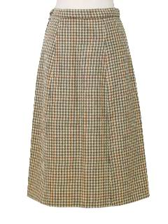 1950's Womens Wool Straight Skirt