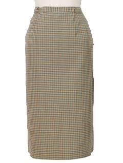 1940's Womens Straight Skirt