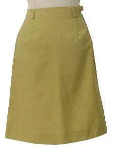 1960's Womens Mod A-line Skirt