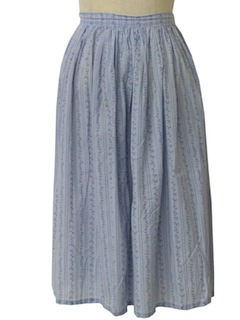 1950's Womens Semi-Circle Skirt