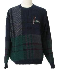 1990's Mens Wicked 90s Golf Sweater