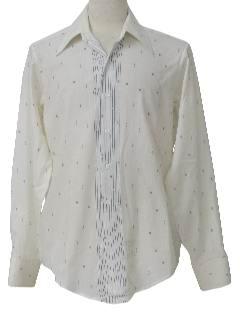 1970's Mens Print Shirt