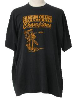1980's Mens Totally 80s College Sports T-Shirt