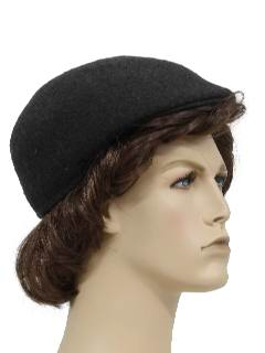 1950's Mens Accessories - Pendleton Wool Golf or Newsboy Hat