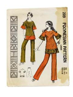 227278 A15679 Hawaiian Sewing Patterns