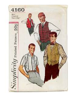 1970's Mens Sewing Pattern