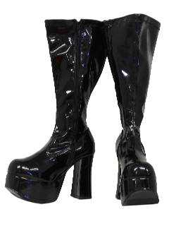1990's Womens Accessories - Wicked 90s GO-GO Stripper Shoes Boots