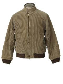 1980's Mens Golf Style Corduroy Jacket