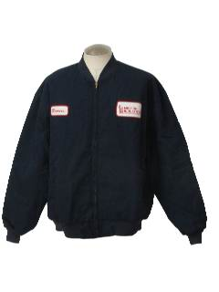 1990's Mens Gas Station Style Work Jacket