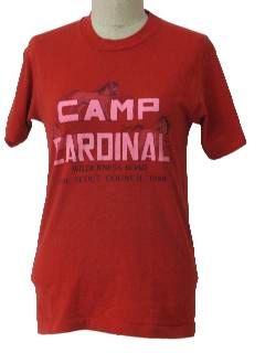 1980's Womens Totally 80s Camp T-Shirt