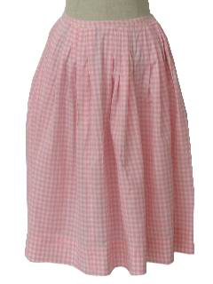 1950's Womens Fab Fifties Semi Circle Skirt