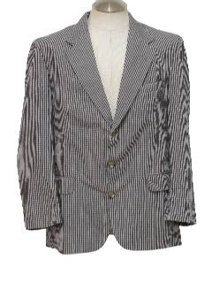 1980's Mens Golf Blazer Style Sport Coat Jacket